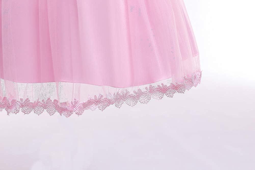 Girls Wedding Party Lace Dress Bridesmaid Pageant Princess Flower Dresses