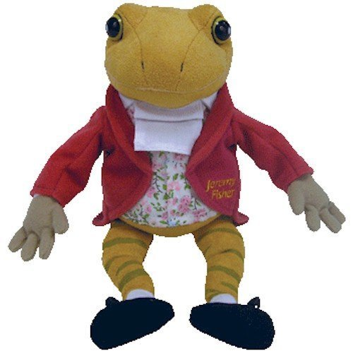 TY Beanie Baby - MR. JEREMY FISHER the Frog (Harrod's Gold Letter Version - UK Exclusive)