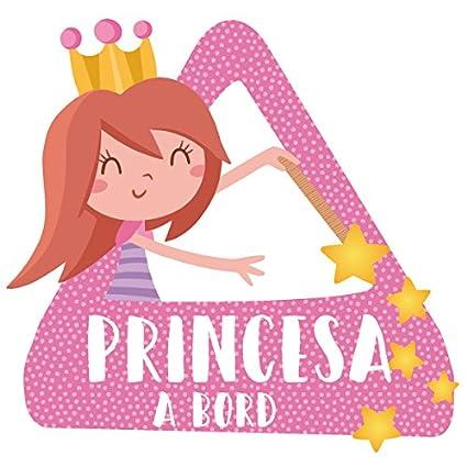 StarStick - Princesa a bordo- Triángulo para coche - Catalán ...