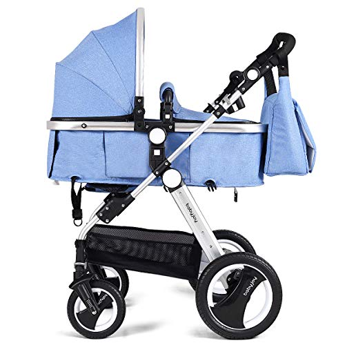 Baby Joy Convertible Bassinet Stroller