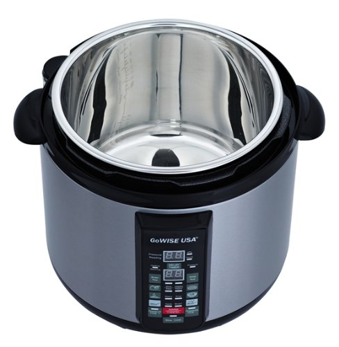 GoWise Stainless-steel 6-in-1 Electric Pressure Cooker/Slow Cooker
