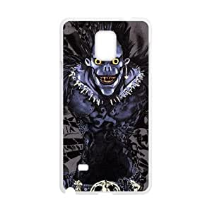 Samsung Galaxy Note 4 Cell Phone Case White Death Note mihk