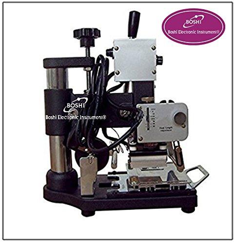 Boshi Electronic Instrument WTJ-90A PVC Card Album Hot foil stamping machine Embossing machine(6X9cm)