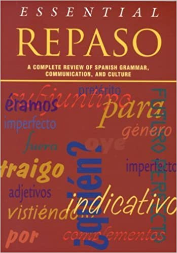 Essential Repaso: A Complete Review of Spanish Grammar, Communication, and Culture by National Textbook Company (1999)