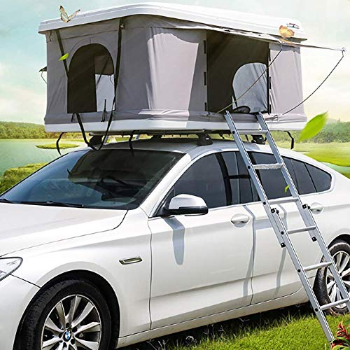 EGCLJ Car Roof Tent – Automotive Rooftop Tent – Waterproof – Quick Open – Camping And Travel – For 2-3 Adults
