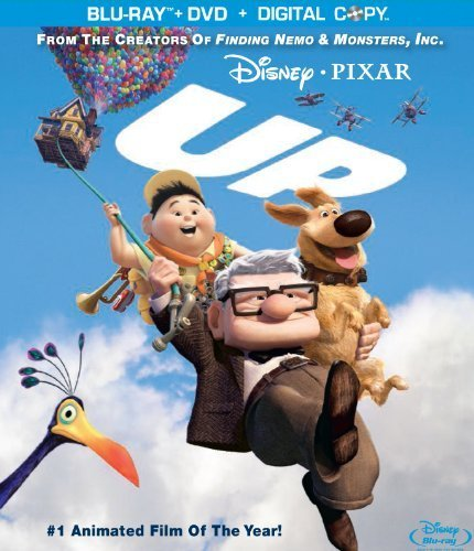 Up (Four-Disc Blu-ray/DVD Combo + BD Live) [Blu-ray] by Disney*Pixar