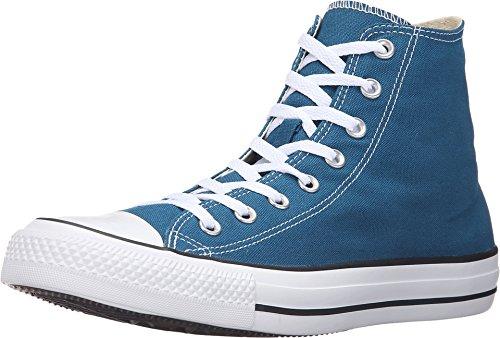 Converse Unisex Chuck Taylor All Star Hi Blue Lagoon Basketball Shoe 8 Men US/10 Women US