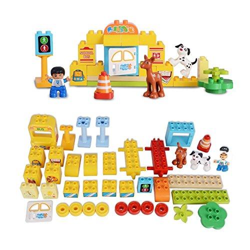 Stem School Bus Org: School Bus Building Kits Construction Toys STEM For