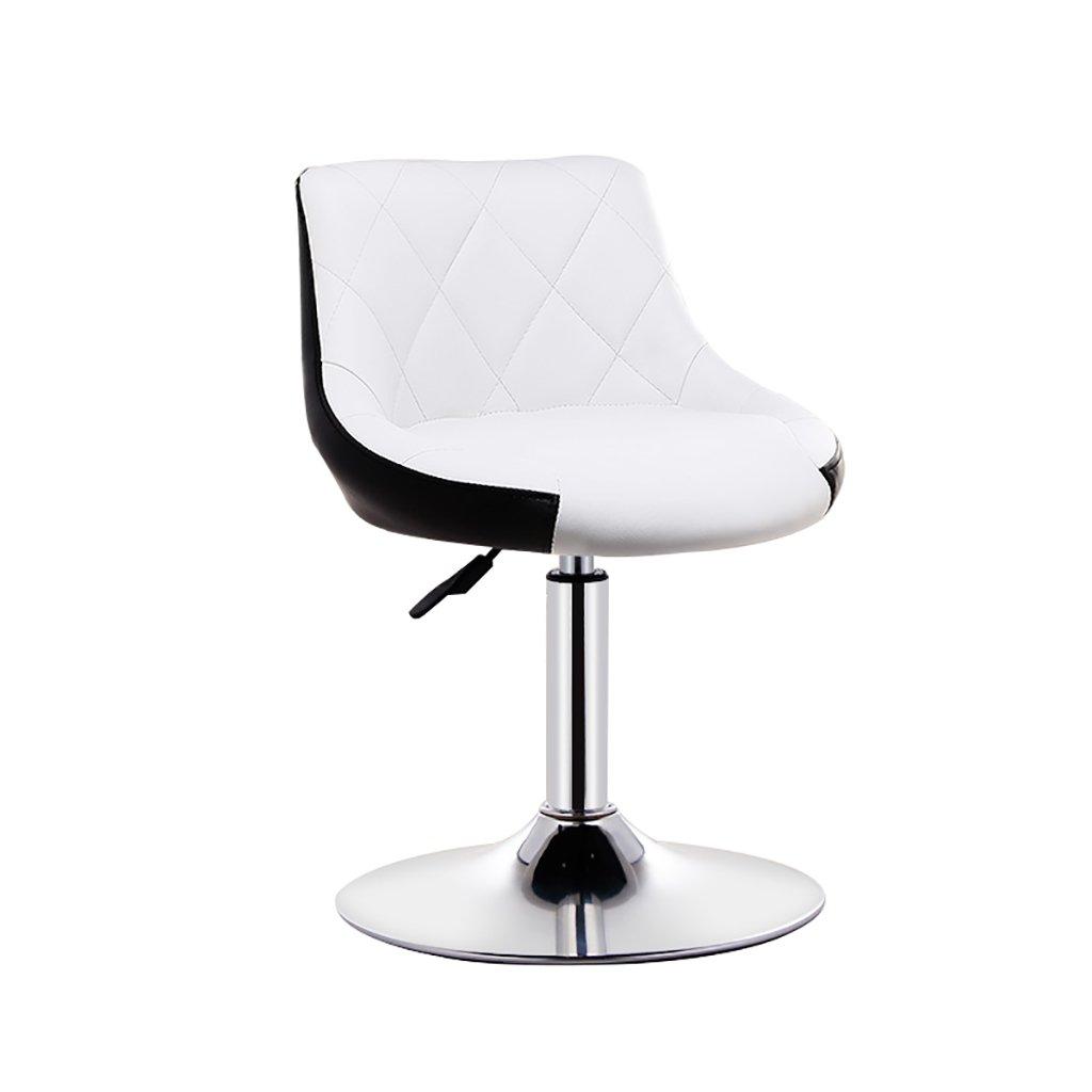 XUEPING 360度回転テレスコピックオフィスチェア美容椅子バースツールチェア美容椅子四季シングル/ダブルバースツールチェアソリッドカラーカウンターチェア (色 : B, サイズ さいず : One) B07CVKYKJX One|B B One