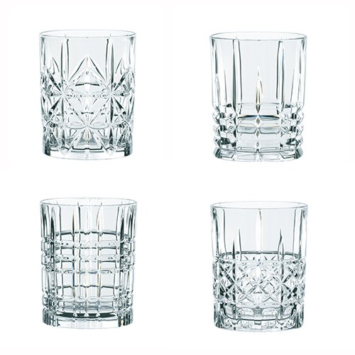 Nachtmann Highland Whisky Tumbler, Set of 4 -