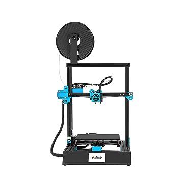 KKmoon - Impresora 3D de alta precisión con pantalla táctil de 3,8 ...