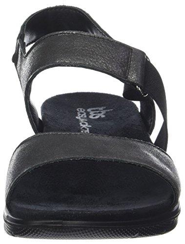 noir Metalise Toe 034 Women''s Black Sandals Open Tbs Monicka wCf6Yx0qnS