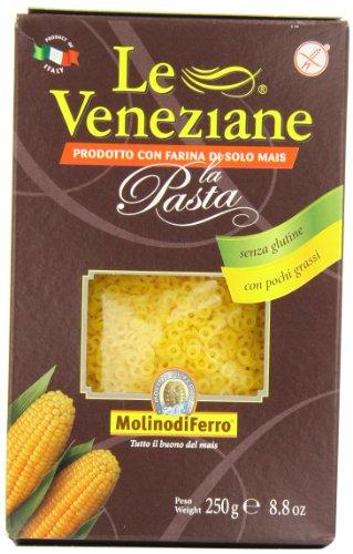 - Le Veneziane - Italian Anellini Pastina [Gluten-Free], (4)- 8.8 oz. Pkgs