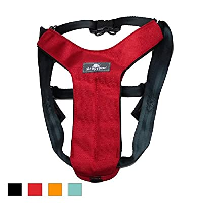 Sleepypod Clickit Sport Utility Safety Harness (Jet Black, Large)