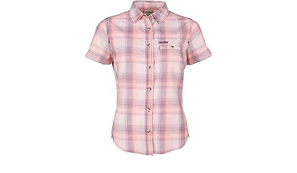 High Colorado Valletta - Camiseta Manga Corta Mujer - Rosa/Blanco Talla EU 42 2019: Amazon.es: Deportes y aire libre