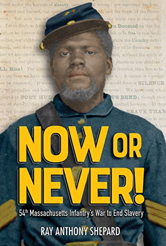 Now or Never: Fifty-Fourth Massachusetts Infantry's War to End - Ray Ray Now