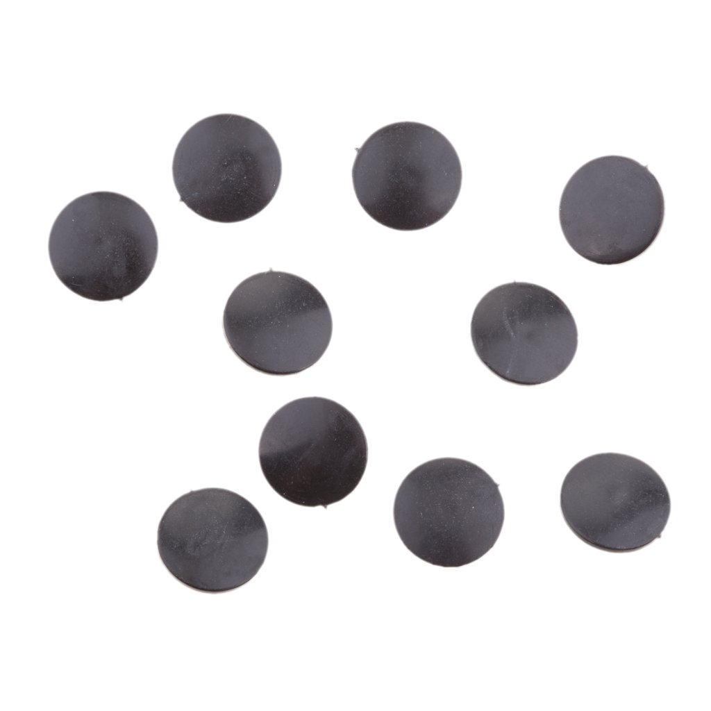 MagiDeal Pack De 100 Cache-Vis Chapeau pour Vis Rondelle Flip Top Beige 2