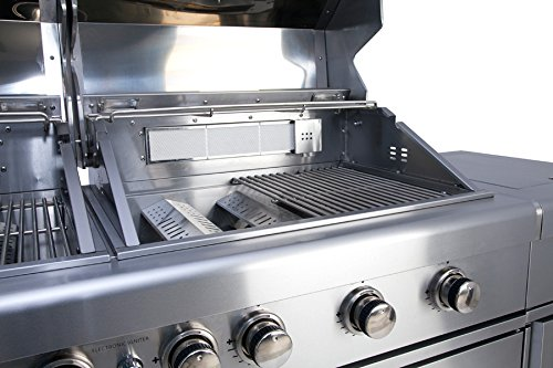 Outdoorküche Gas Ideal : Allgrill gasgrill outdoorküche extrem set mit grillspieß und