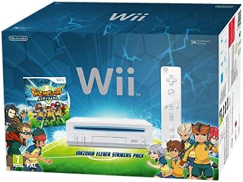 Nintendo Wii Inazuma Eleven Strikers Pack Blanco Wifi - Videoconsolas (Wii, Blanco, 512 MB, IBM PowerPC, 802.11b,802.11g, 1,13 kg): Amazon.es: Videojuegos