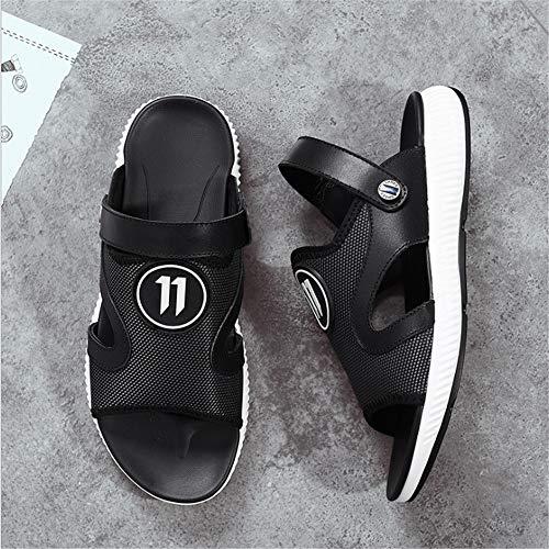 Deportes 38 color Hombres Verano Al Negro Playa Zapatos Para Eu Negras De 0 Libre 24 Wangcui 3 Cm 0 2 Sandalias Ligeros 29 Tamaño Aire Negro nxUwFq8