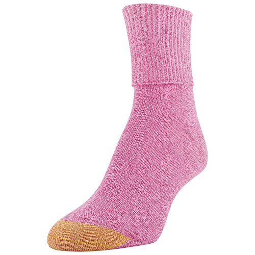 thumbnail 7 - Gold Toe Women's Classic Turn Cuff Socks, Multipai - Choose SZ/color