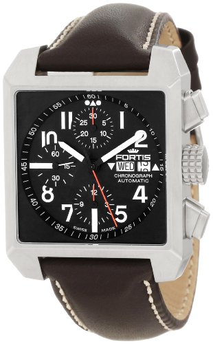 fortis-mens-6671041-l16-square-chronograph-watch