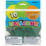 "Latex Balloons, 12"", Deep Forest, 10 Count"