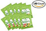 GELATIN-FREE Honey Gummy Bears (180-count Snack Packs) - Lovely Candy Co. - Cherry, Lemon & Apple Flavors | NO HFCS, GLUTEN or Fake Ingredients!