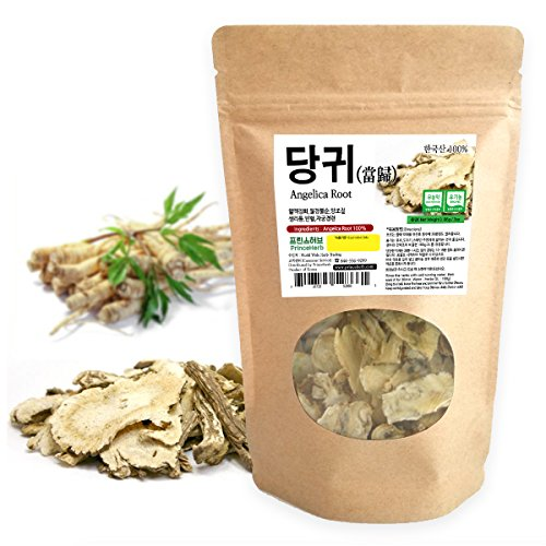 [Medicinal Korean Herb] Angelica root (Angelica archangelica/Dangguigen / 당귀) Dried Bulk Herbs 3oz (86g)