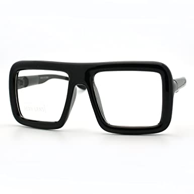 eyeglasses  Amazon.com: Black Thick Square Glasses Clear Lens Eyeglasses Frame ...