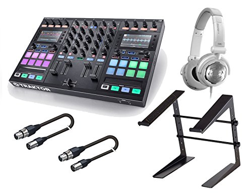 Native Instruments Kontrol S5 DJ Controller. With Free Acenta laptop Stand, tascam TH02 and 2 XLR Cables.