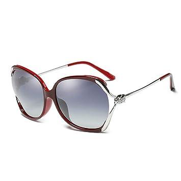 Amazon.com: HongTeng Gafas de sol polarizadas para mujer ...