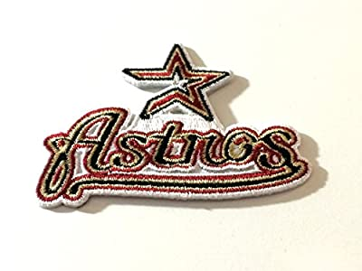 Houston Astros Embroidered Iron on Patches MLB Baseball