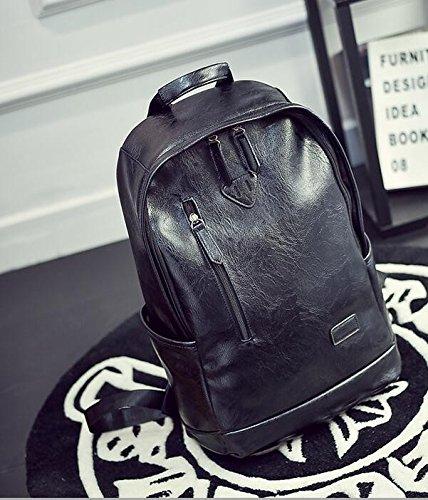 Die Mode Trend der weiblichen Kursteilnehmer Rucksack Tasche Tasche für Männer black VHTGCF