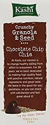 Kashi Crunchy Granola & Seed Bars, Chocolate Chip Chia, 7oz Box (Pack of 4)
