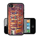 Liili Premium Apple iPhone 4 iPhone 4S Aluminum Backplate Bumper Snap Case IMAGE ID: 9845534 Many people on the fresco in museum antropology in Mexico