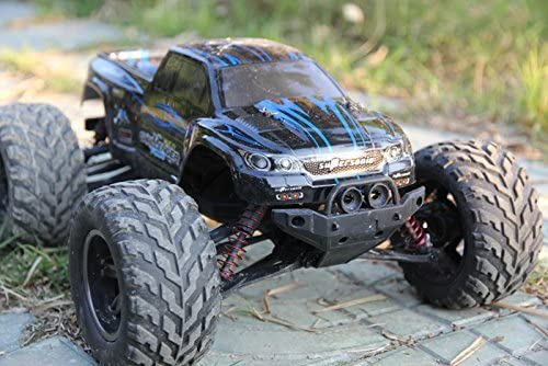 Fmtstore 1 12 Ipx4 Scale Electric Rc Car Offroad 2 4ghz 2wd High Speed 33 Mph Remote Controlled Car Truck Color Blue Amazon Com Au Toys Games