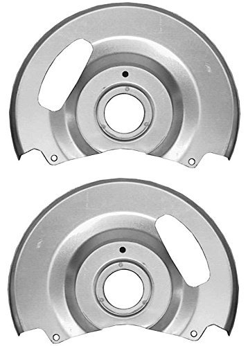 NEW SOUTHWEST SPEED DISC BRAKE DUST SHIELDS/BACKING PLATES FOR DISC BRAKES ON 1971-1991 CHEVY & GMC C10 C1500 TRUCKS & SUBURBANS by Southwest Speed