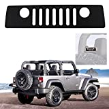 1 pc Third Brake Light Cover with Jeep Front Face Logo For Jeep Wrangler JK 2007-2017