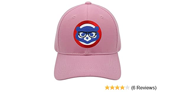 24dc7c933 Chicago Cubs Womens Hat - Joe Maddon/Harry Caray Glasses - Pink Adjustable  Snapback Cap at Amazon's Sports Collectibles Store