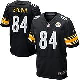 Men's American Football Jersey - Brown 84# Black Elite XXX-Large