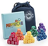 Poppycock Family Dice Game | Fun & Creative Kids Dice Games | Board Games Families | Children Dice Games Learning | Unique Adult Dice Game Set Game Night | Dice Games Families