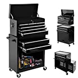 High Capacity Rolling Tool Chest with Wheels and