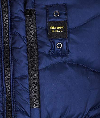 Uomo Blauer 19sbluc03047888 Blu Poliestere Piumino zCqwq85