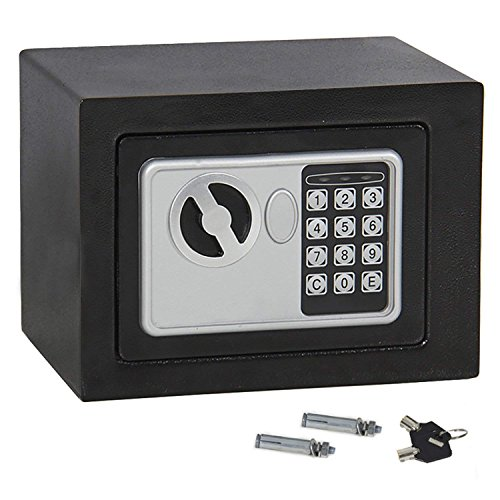 ZENSTYLE Security Safe Box with Digital Lock Solid Steel Construction Hidden Cabinet, Black by ZENSTYLE