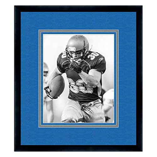 - Sports Frames United States Air Force Academy Black Wood Frame with Falcons Triple Mat Colors - Made to Display 16