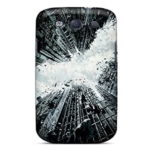 High Grade Harries Flexible Tpu Case For Galaxy S3 - The Dark Knight Rises 2012