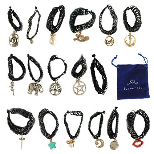 Jewelry Stretch Elastic Pendant Necklace