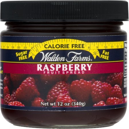 Raspberry Fruit Spread Jar 12 Ounce Free Calories by Walden Farms by Walden Farms (Image #3)'