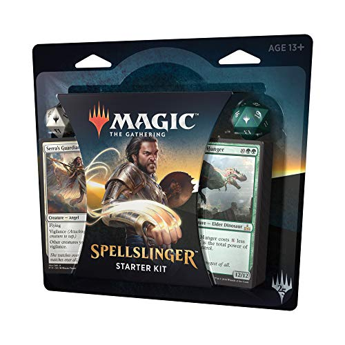 Magic The Gathering Spellslinger Starter Kit | 2 Starter Decks | 2 Dice | 2 Learn to Play Guides